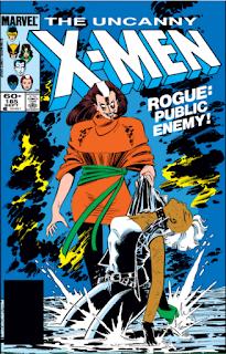 Uncanny X-Men #185 Cover