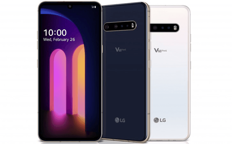LG V60 ThinQ 5G with Snapdragon 865, 5,000mAh battery, dual screen accessory now official!