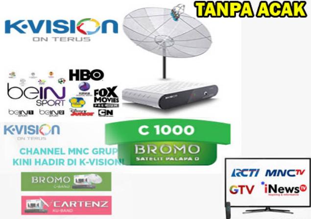 Penyebab Dan Solusi Channel RCTI,MNCTV,GTV Dan INEWS Hilang Ketika Malam Hari