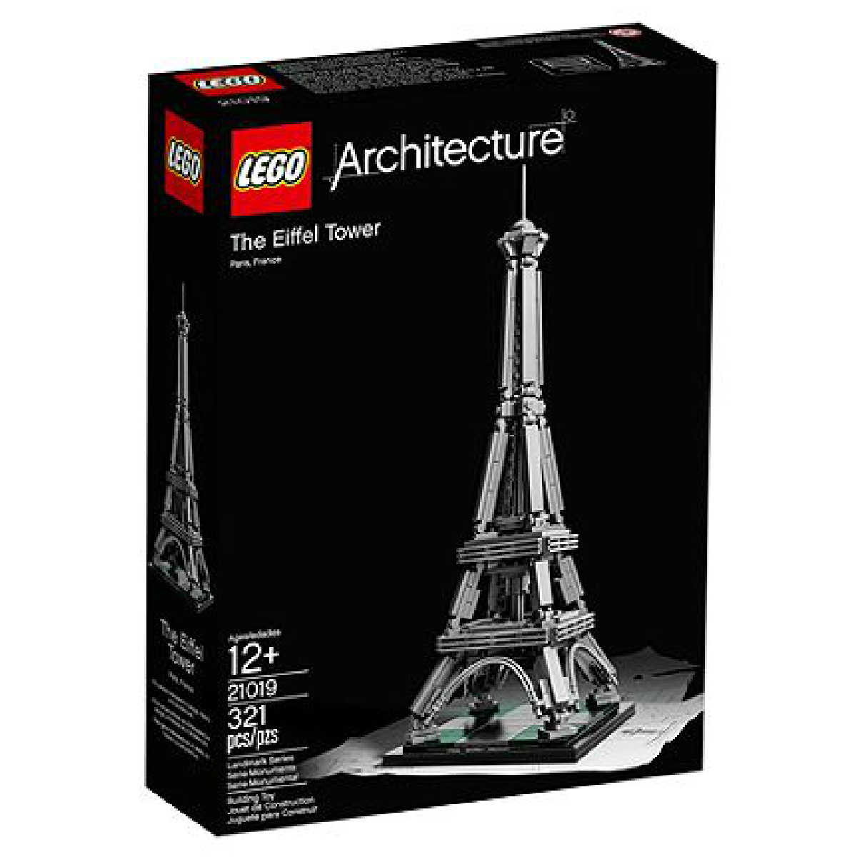Tour Eiffel en Lego collection Architecture