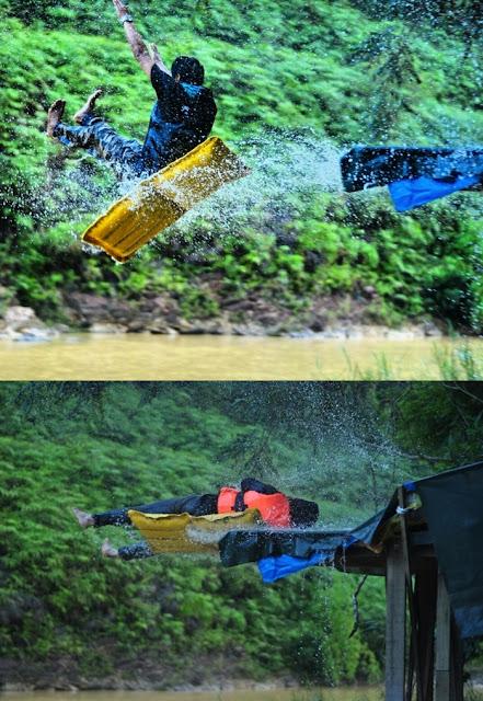 Rempuh Halangan dan Aktiviti Sungai di Xcape Resort Sungai Lembing, Pahang
