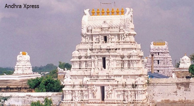 Srikalahasti Temple Chittoor district