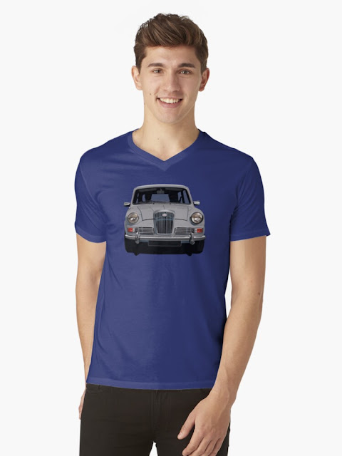 Wolseley Hornet vintage car t-shirt