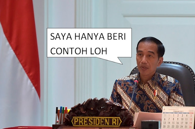 Dana Haji Buat Infrastruktur Jadi Kontroversi, Jokowi: Itu Hanya Contoh