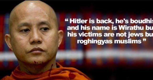Wow, China Ancam Perang Turki, Jika Ganggu Biksu Rasis Anti Islam Wirathu