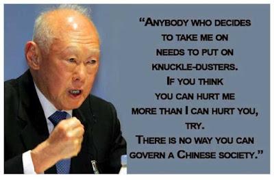 Lee Kuan Yee nyatakan benci islam