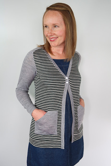 The Juniper Cardigan Sew Along Attaching Pockets With Free Pocket