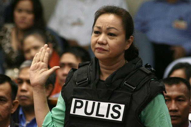 Janet Lim Napoles on Senate Hearing