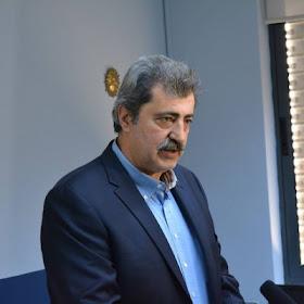 Ο Αναπληρωτής Υπουργός Υγείας Παύλος Πολάκης στην Κατερίνη