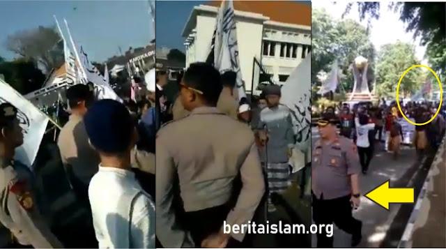 Polisi larang bendera tauhid