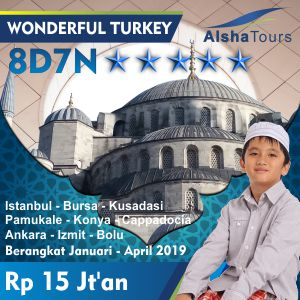 Wonderful Amazing Turki 2019 Alsha Tour
