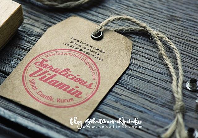 Design Watermark Saralicious Vitamin