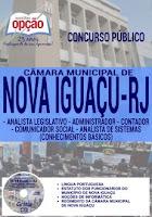 Apostila Câmara de Nova Iguaçu administrador 2016