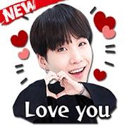 Stiker WA BTS Korea