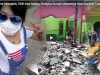 Kesal Suami Selingkuh, TKW Asal Malang Bongkar Rumah Mewahnya Hasil Banting Tulang di Negeri Orang