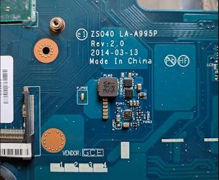 HP 14-r113TU ZS040 Mainboard LA-A995P REV-2.0 Laptop Bios