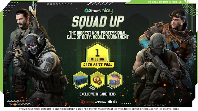Cal of Duty Gizmo Manila