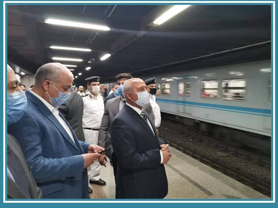 عودة تشغيل قطارات مترو الانفاق... ونظام تشغيل 81 قطارا بالخطوط الثلاثة