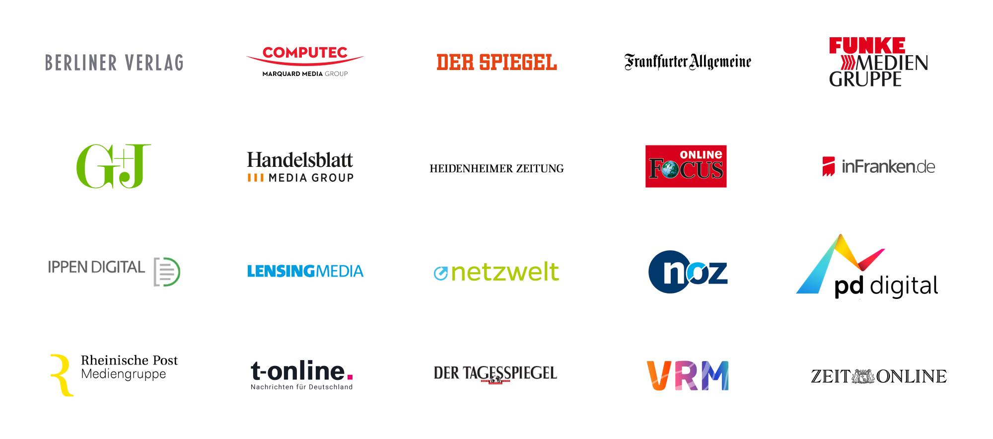 Logos der Partner