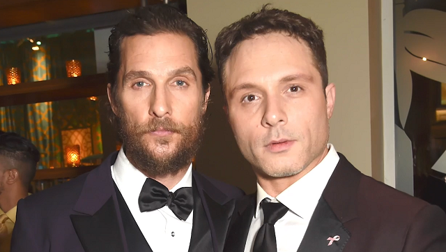 Matthew McConaughey e Nic Pizzolatto/Reprodução