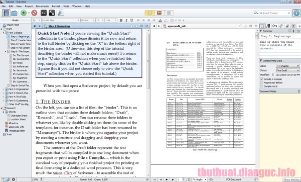 Download Scrivener 1.9.13.0 Full Crack