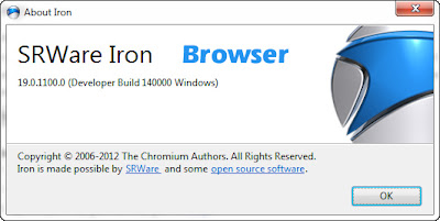 SRWare Iron Version: 19.0 Latest