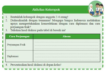 Kunci Jawaban IPS Kelas 9 Halaman 215 Aktivitas Kelompok