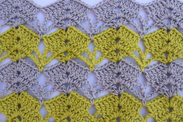 1 - Crochet Imagen puntada calada de verano a crochet y ganchillo por Majovel Crochet paso a paso DIY sencillo fácil