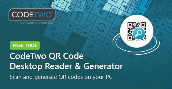 CodeTwo QR Code Desktop Reader & Generator