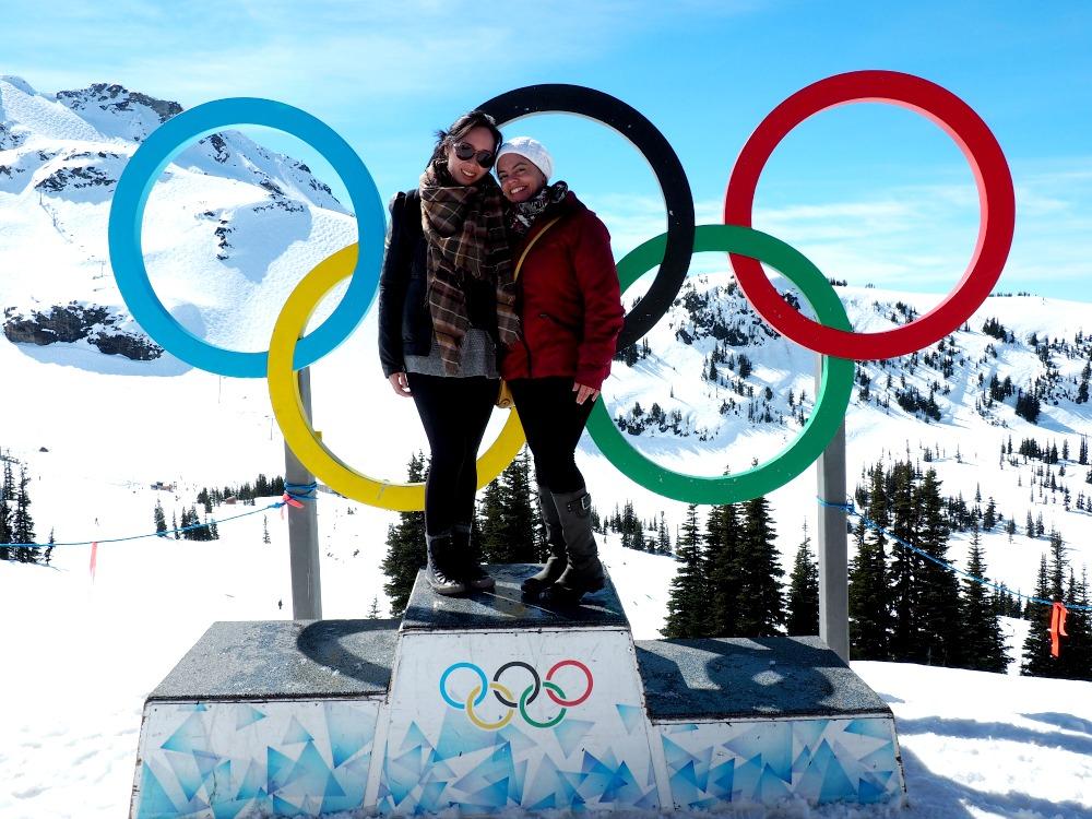 Olympic rings-Whistler