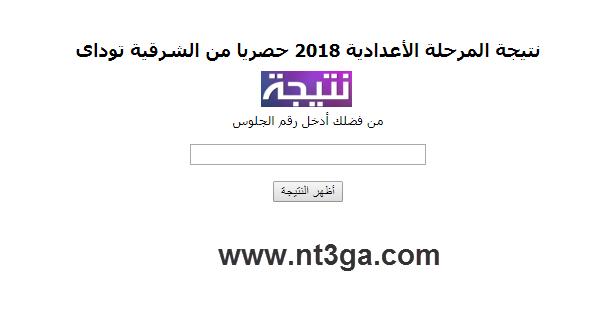 اعتماد نتيجة الشهادة الاعدادية محافظة الشرقية 2018 واعلان النتيجة