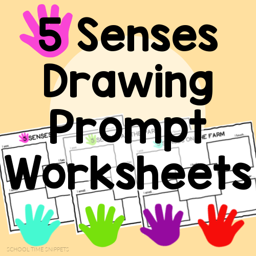 SENSES WORKSHEETS FOR PRESCHOOL