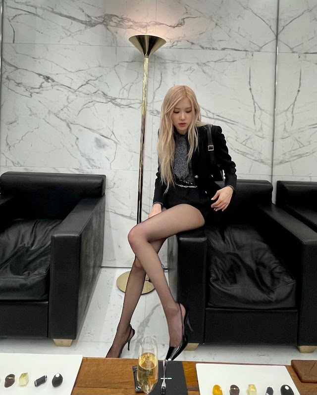 Knetz admire about BLACKPINK Rosé's amazing figure in her latest Instagram Update.