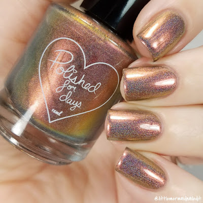 Polished For Days Clove Autumn Harvest Collection Swatches and Review