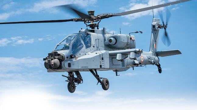 AH-64E Apache Attack Helicopter