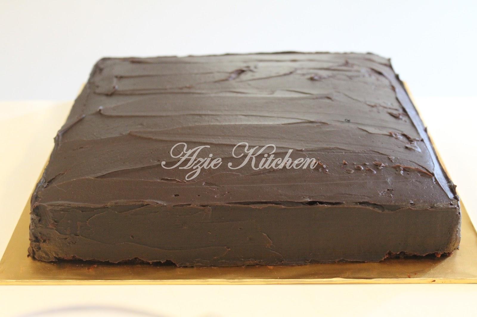 Resepi Kek Coklat Moist Bakar Sukatan Cawan Santapan Senja