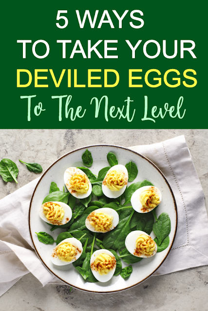 5 Ways To Take Your Deviled Eggs To The Next Level