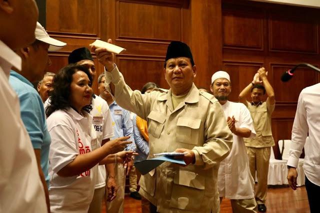 Prabowo: Saya Wakafkan Hidup untuk Indonesia