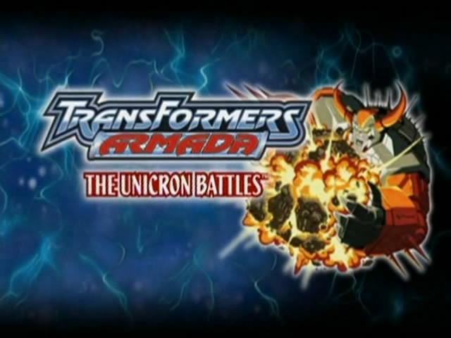 Transformers Armada Premier Movie