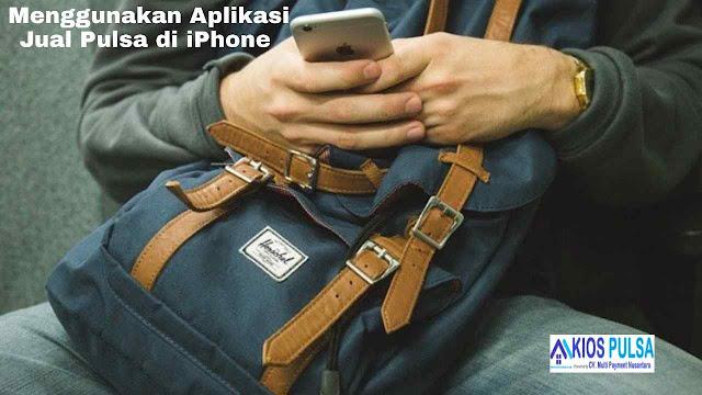 Kios Pulsa, Aplikasi Jual Pulsa di iPhone