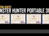 Download CQ / Custom Quest MHP3RD V8 For Emulator PPSSPP