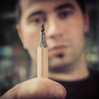 skulpture od olovke