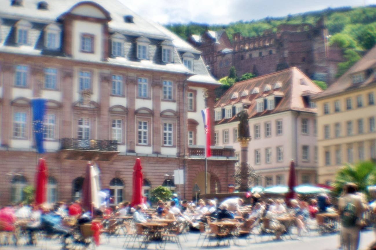 Bilder mit dem Kollimator-Selbstbau-Objektiv #20— Bild des Tages #93 — Heidelberg lebt