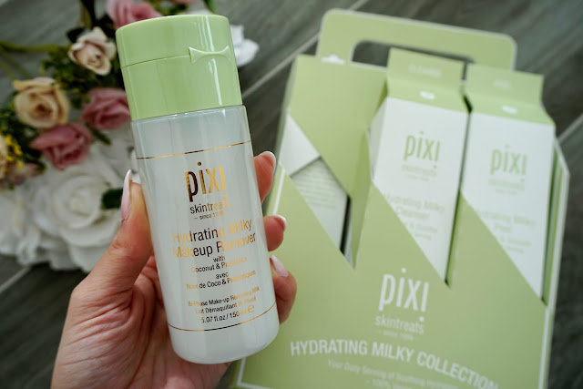 the Pixi Beauty Hydrating Milky Makeup Remover