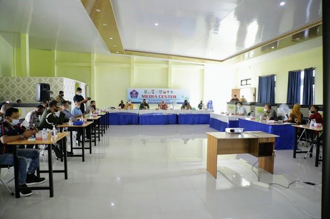 Dalam Rangka Penjemputan Vaksin, Bupati Asahan Gelar Rapat Koordinasi Bersama Unsur Forkopimda