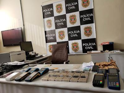 Polícia Civil realiza 1º etapa da investigação contra crimes patrimoniais ocorridos em Santos