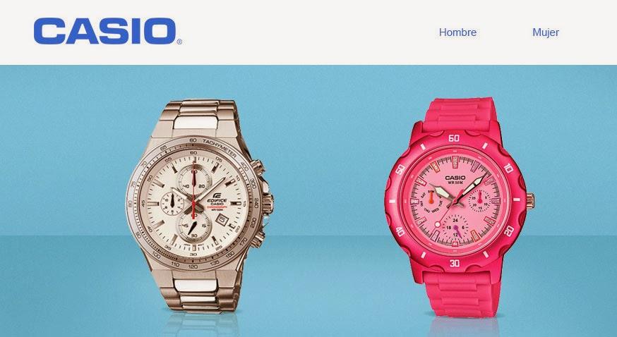reloj casio mujer barato b8370adcec27