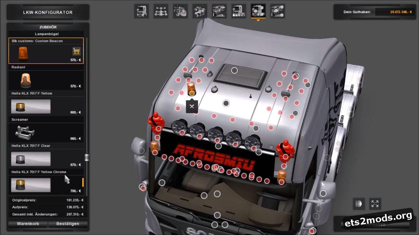 Mega Tuning for All Trucks by Afrosmiu V.1.0 [Beta]