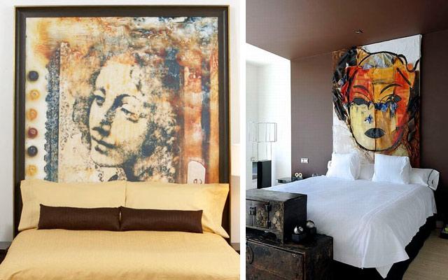 Marzua cabeceros art sticos para la decoraci n de dormitorios - Cabeceros de papel pintado ...