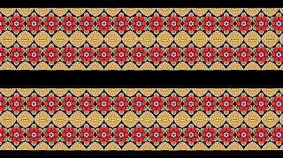 lehenga skirt border & belt textile print design